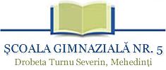 Şcoala Gimnazială nr. 5, Drobeta Turnu Severin